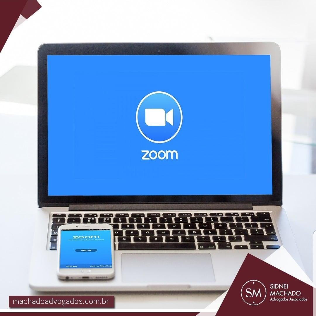 Videoconferência por Zoom é o novo canal de atendimento do Escritório